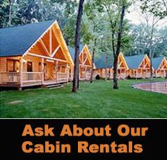 WI Dells Log Cabin Rentals