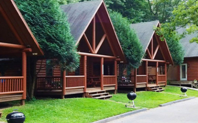 $199 Log Cabin Rental Special • Valid March-April