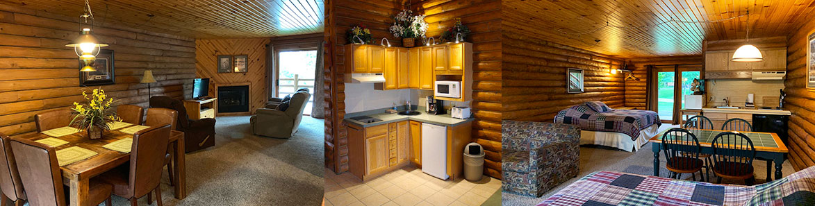 Wisconsin Dells Lodging at Cedar Lodge on the WI River